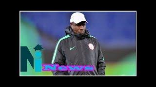 Salisu Yusuf's calm aura underpins Nigeria success   Goal.com