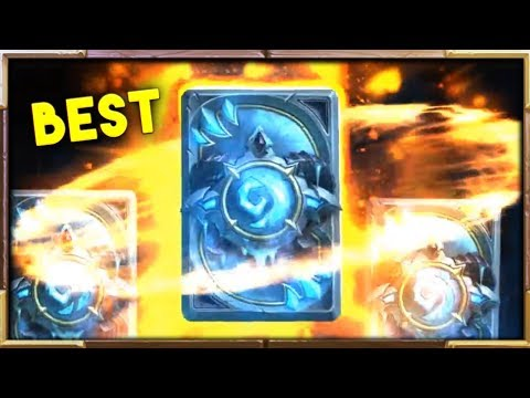 THE BEST Knights of the Frozen Throne Packs | Hearthstone