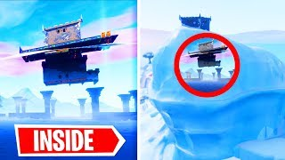 I Hacked Inside THE ICEBERG / POLAR PEAK In Fortnite