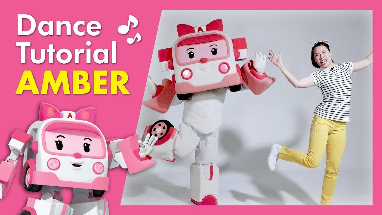 Robocar poli dance school amber class robocar poli theme song youtube - Robocar poli ambre ...
