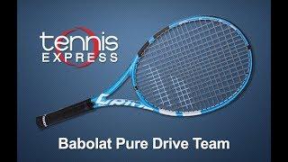 Babolat 2018 Pure Drive Team Tennis Racquet Review | Tennis Express