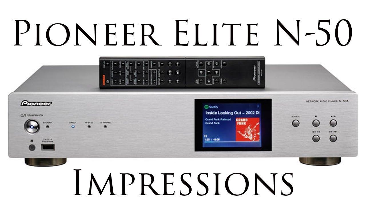 Pioneer Elite N-50 Network Audio Player