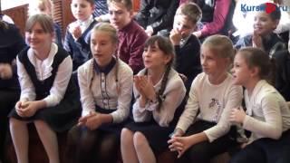 Известный актер Сергей Друзьяк  провел для курских школьников мастер-класс по журналистике
