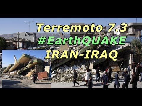 Mais de 400 mortos terremoto fronteira Irã-Iraque (Iran-Iraq #earthquake)