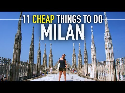 11 FREE/CHEAP Things To Do In MILAN | Italy On A Budget Trav