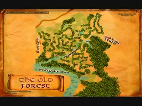 Lord Of The Rings Online World Map.Lotro Flowers Of The Old Forest Deed Walkthrough Youtube