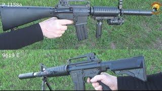 Обзор игрушечных пневматических автоматов / toy pneumatic machine gun
