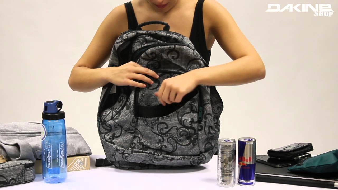 Dakine Crystal Pack 23L - YouTube