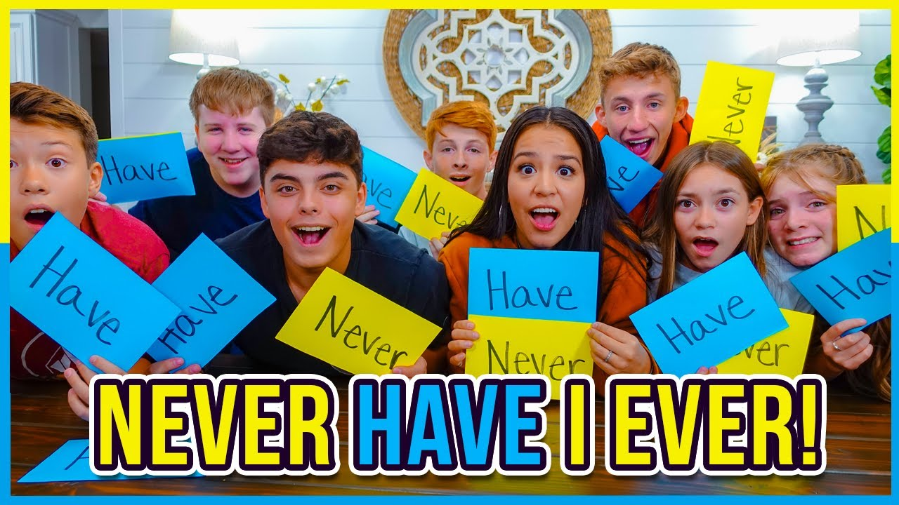 Never Have I Ever! | Teen Edition! | Are They In Trouble? | Siblings!