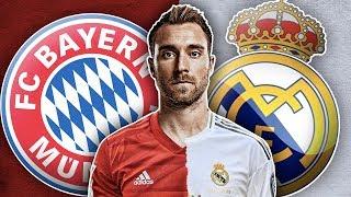 Bayern Munich Favourites To Beat Real Madrid To Christian Eriksen Transfer!| Euro Transfer Talk