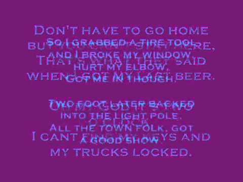 All Jacked Up - Gretchen Wilson ~ Lyrics