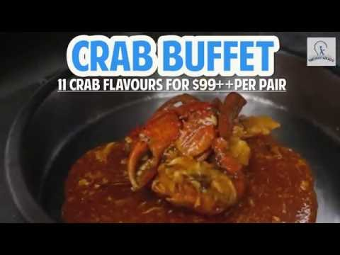 Crab Buffet For Just $99++ Per Pair At PARKROYAL On Beach Road