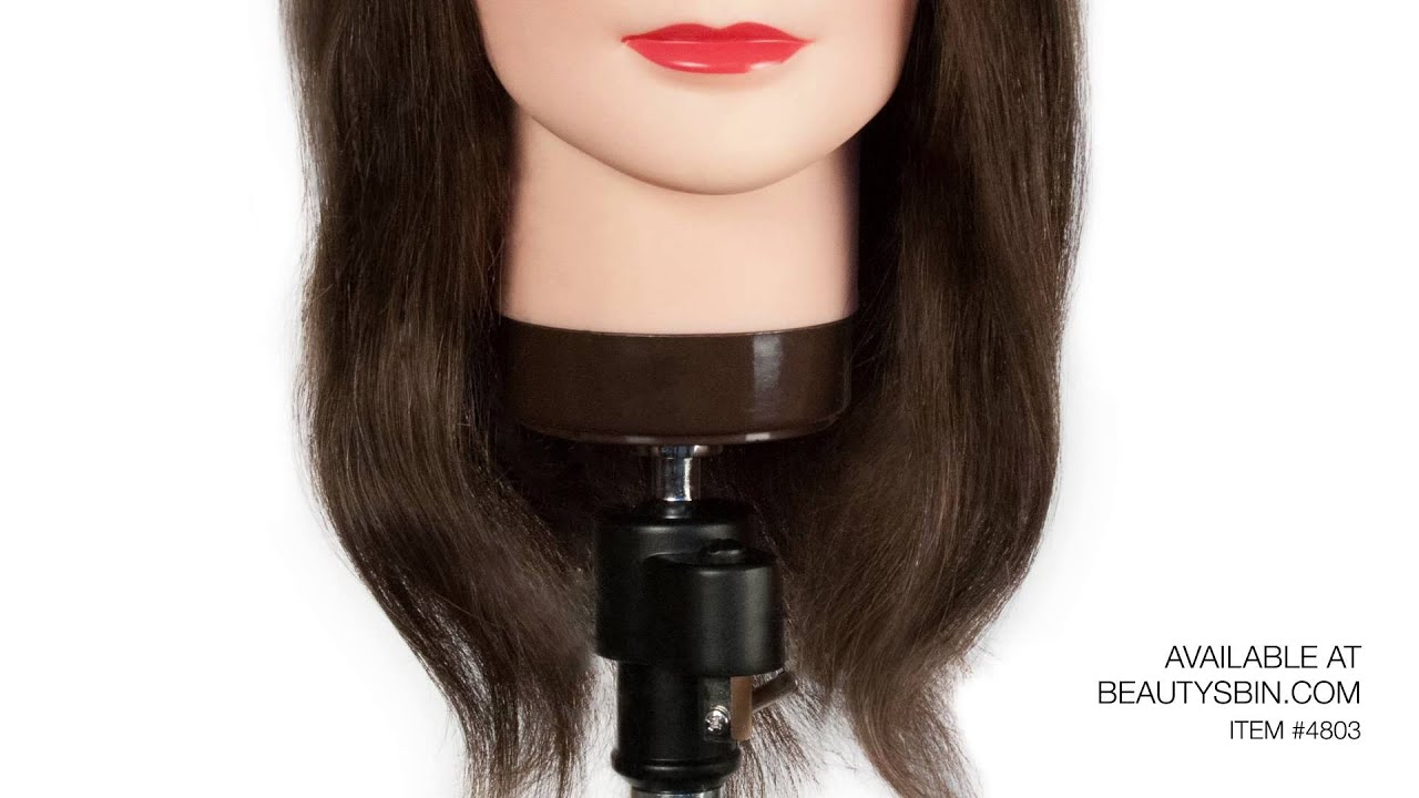 Hair Styling Mannequin Head: Cosmetology Mannequin Head 22-24""