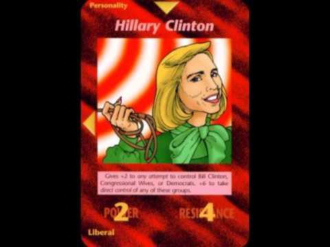 Resultado de imagem para as cartas illuminati hillary e trump