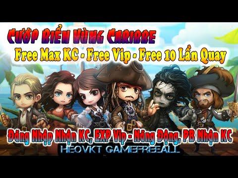 Game 193: Cươp Biển Vùng Caribe (Android,PC) | Free Max KC – Free Vip – 10 Lần Quay Tướng [HeoVKT]