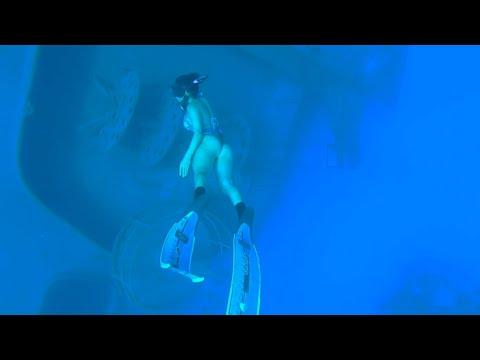 "Free DIVING ""60 plus feet"" | CAYMAN Islands | Prt 2"