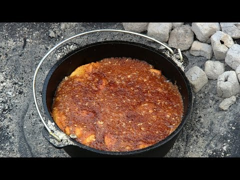 Dutch Oven Apple Crisp Cast Iron Wednesday CampMaid