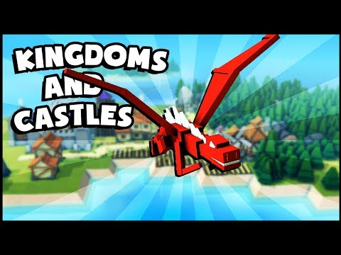 NEW Ships & Ports Update! Dragon Sighting Over New Island Kingdom! (Kingdoms and Castles Gameplay)