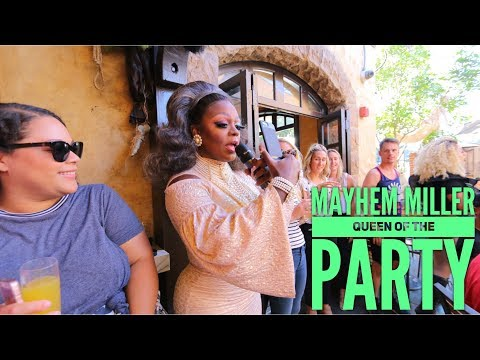 MAYHEM MILLER | QUEEN OF THE PARTY | DRAG QUEEN BRUNCH | THE ABBEY WEHO | 2017