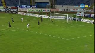 FC Botoșani – FC Hermannstadt 2-0, Chitosca rateaza singur cu portarul!