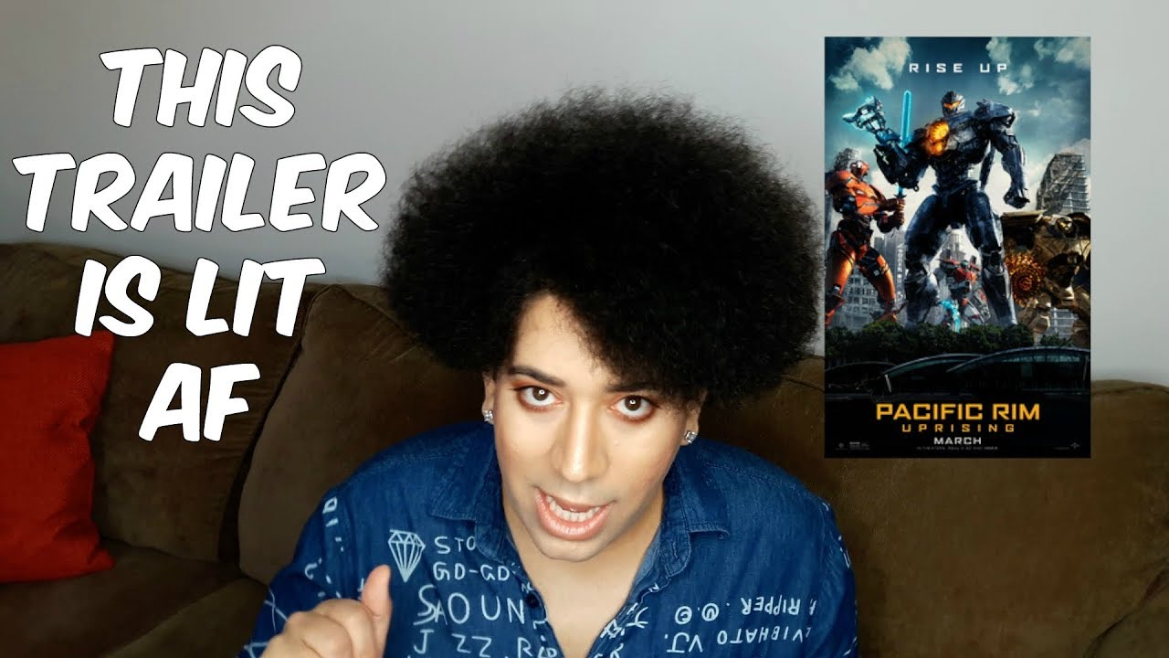 PACIFIC RIM: UPRISING TRAILER 2 REACTION