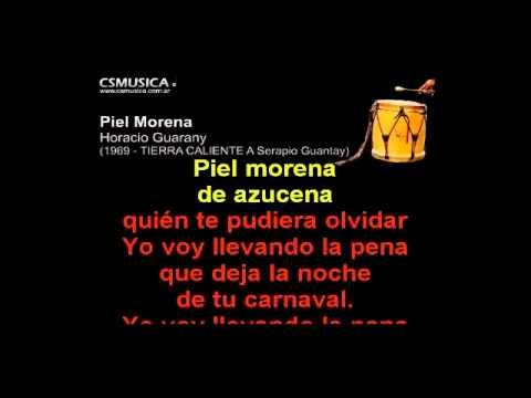 Folklore   Piel Morena   Karaoke