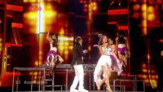 Azerbaijan - Eurovision Song Contest 2009 Semi Final 2 - BBC Three