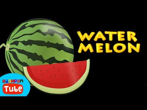 English Rhymes For Kids And Toddlers Water Melon Fruit Rhymes For Kids And Toddlers Bachpan Tube
