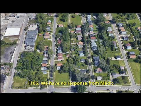 Detroit Fire and EMS attacked by citizens (radio scanner traffic)