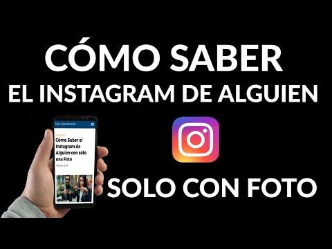 Cómo Saber el Instagram de Alguien con sólo una Foto