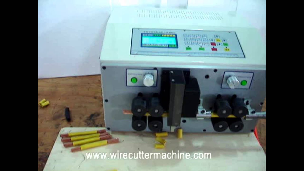 removing insulation from copper wire rotary cable stripper strip ...