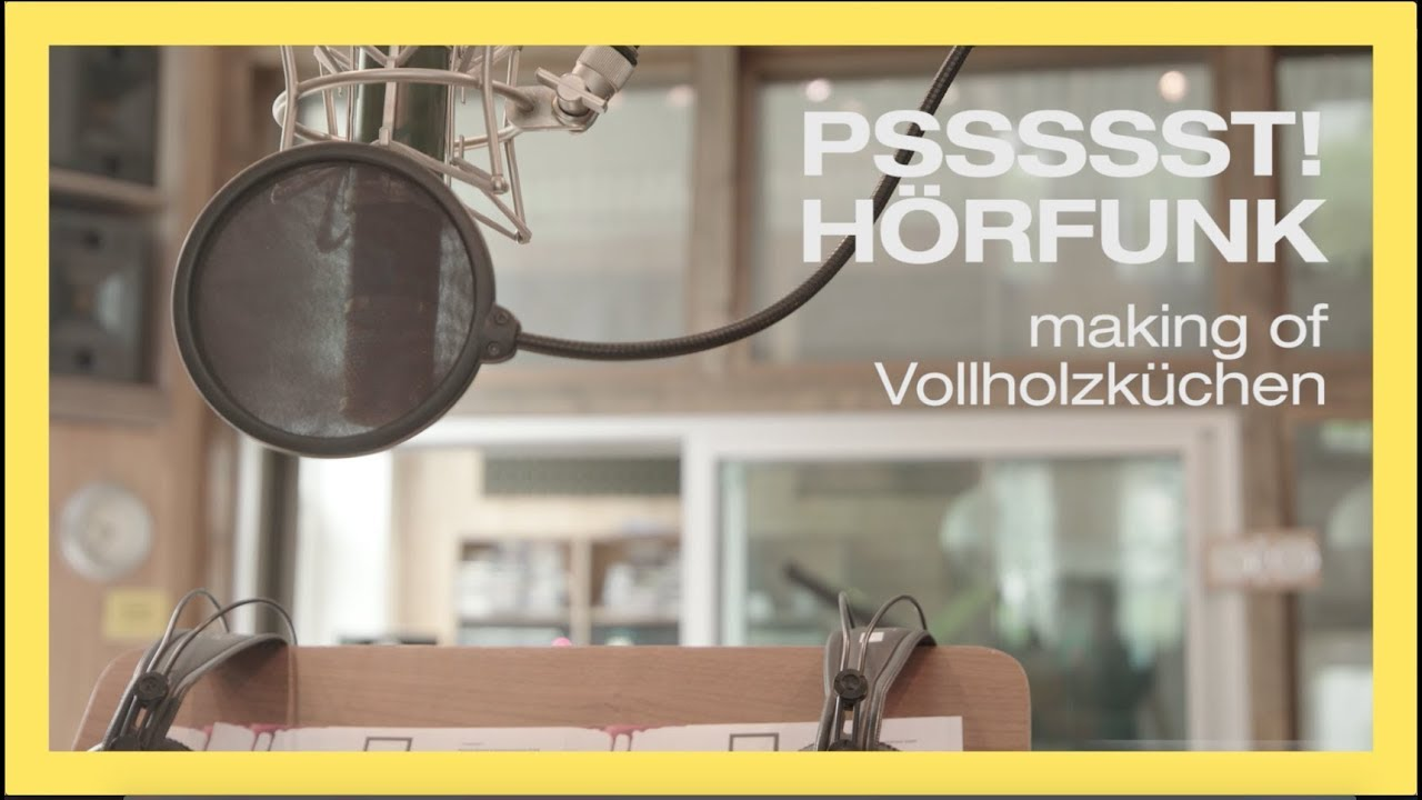 Haka Kuche Making Of Radiospot Vollholzkuche Youtube