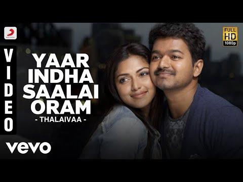 Thalaivaa - Yaar Indha Saalai Oram Video | Vijay, Amala Paul