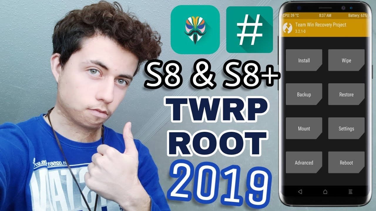 Install 2019 Root & TWRP on S8/S8+ (EASIEST METHOD)