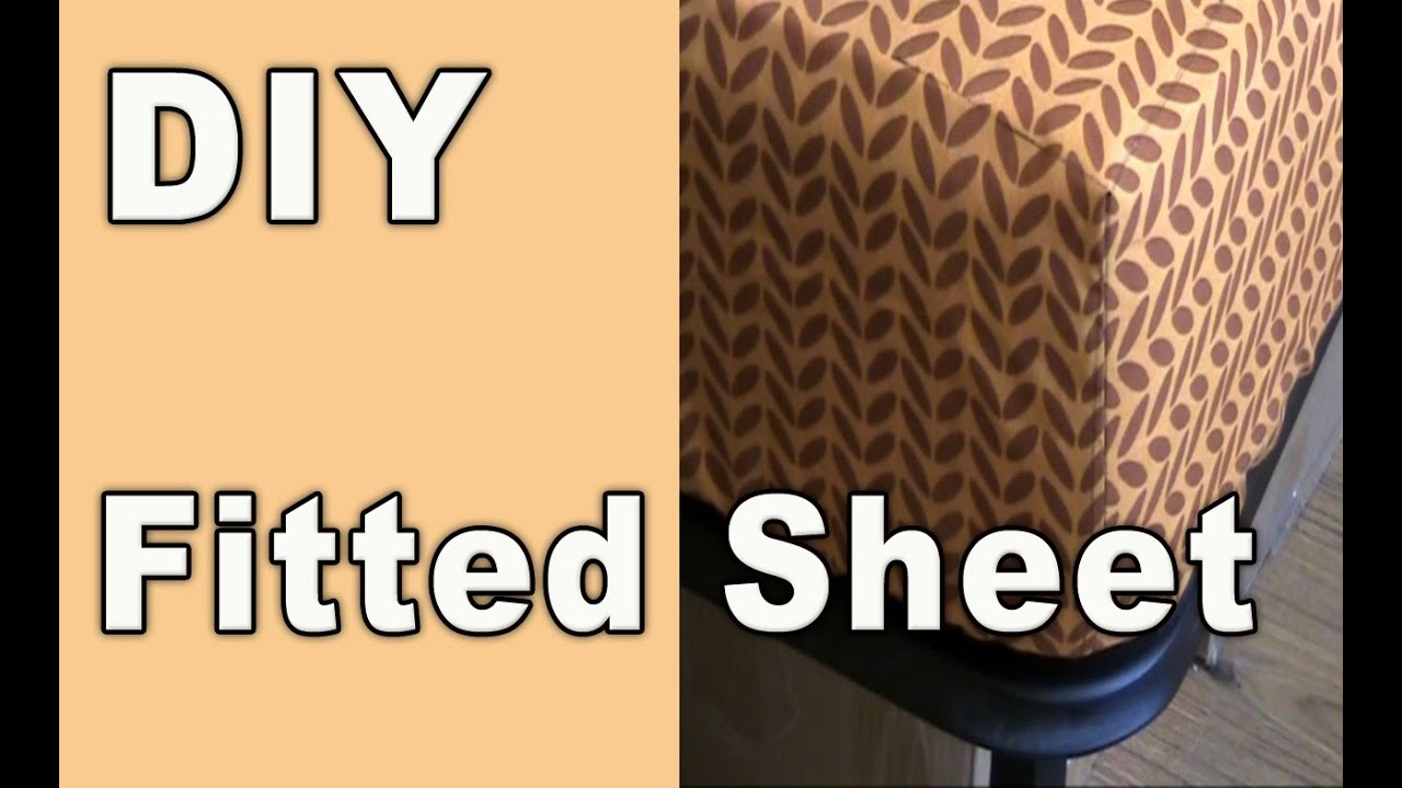 DIY - How to sew a fitted sheet (crib sheet) from a flat ...