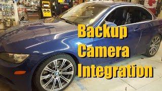 builds 2009 bmw m3 backup camera integration nav tv