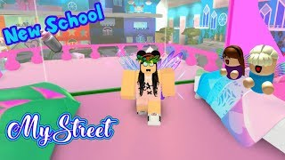 MYSTREET IN ROBLOX Episode 3 ROLEPLAY STORY - Adopting a Baby Fairy in Enchantix High MY NEW School