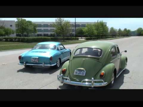 1964 VW BeetleVerses1970 VW Karmann GhiaDRAG RACE  YouTube