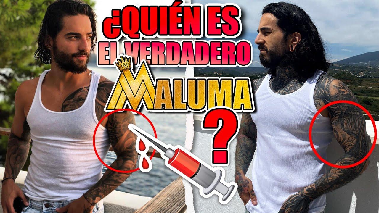MALUMA de ESPAÑA ANALIZA los TATUAJES de MALUMA de COLOMBIA ❤️🩹