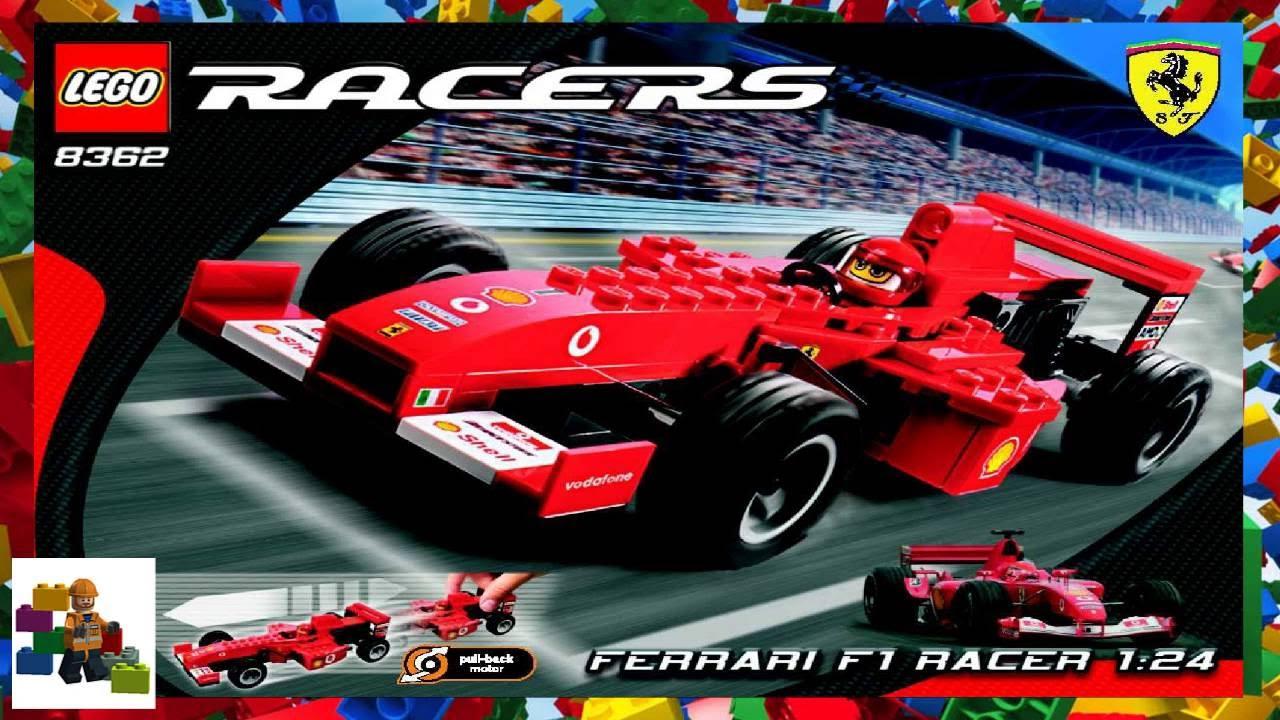 lego instructions ferrari 8362 ferrari f1 racer 1. Black Bedroom Furniture Sets. Home Design Ideas