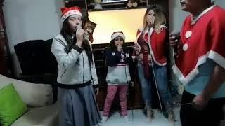 "NSF - 5TO ""A"" de Secundaria,  Villancico Ven a mi casa esta navidad Familia"
