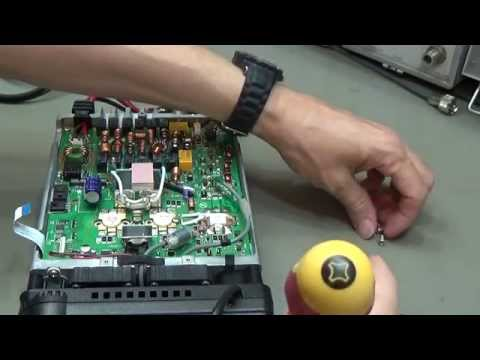 #54 Amateur Radio Repair: Yaesu FT-857 with no TX Power on HF and 50MHZ