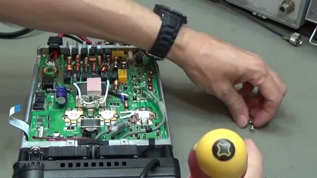 #54 Amateur Radio Repair: Yaesu FT-857 with no TX Power on