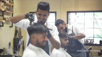 Barbering Day at The Bombay Hair Company