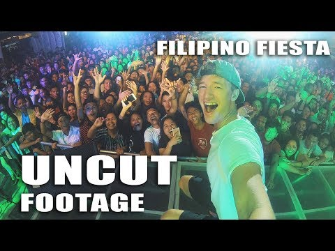 FIGHTER BOYS BLOW UP A FESTIVAL IN PHILIPPINES // Raw Uncut Experience