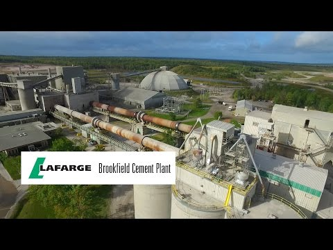 The Manufacturing Process at the Lafarge Brookfield Cement Plant