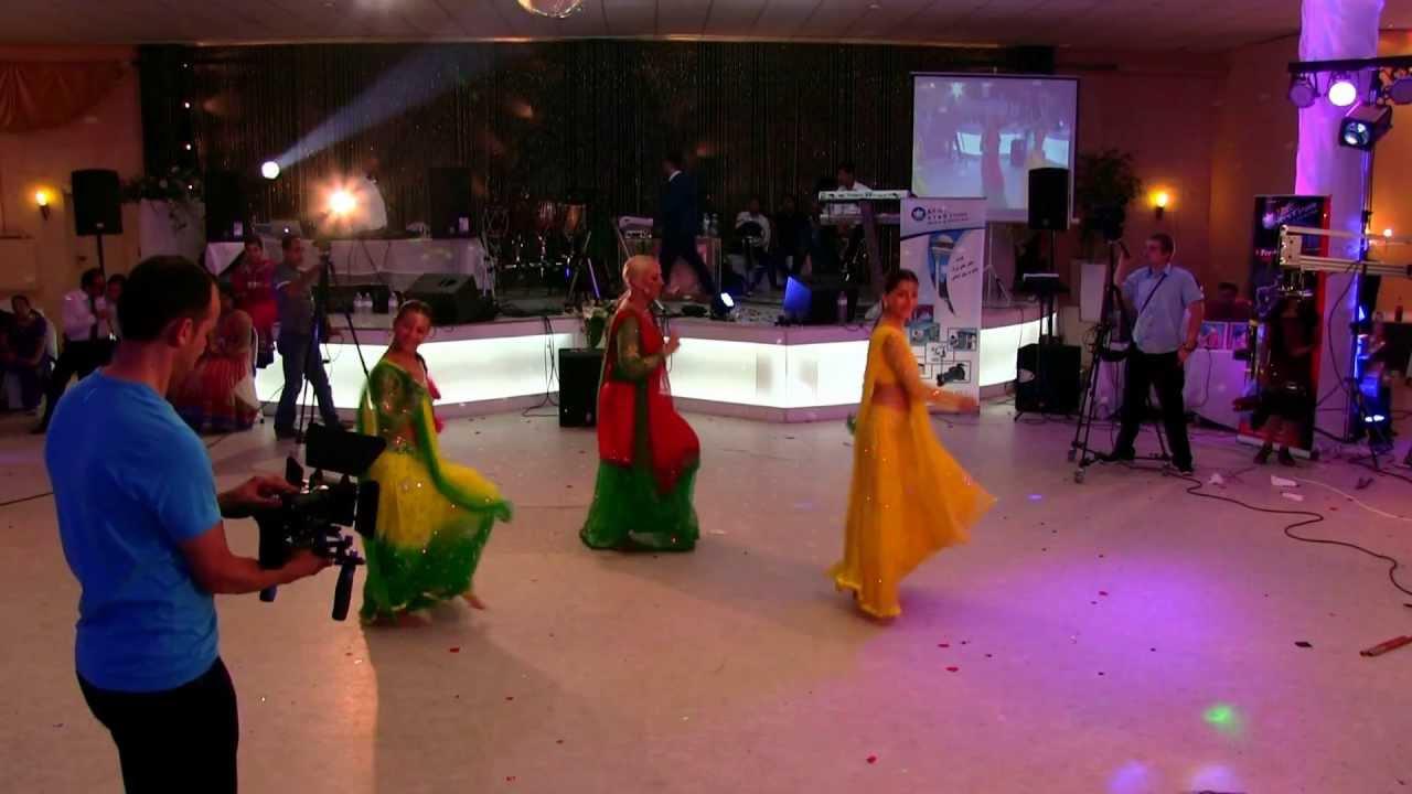 Bollywood Tanzgruppe Afghanische Hindu Hochzeitsfeier Frankfurt