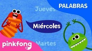 Siete Días | Los días de la Semana | Aprender Palabras | Pinkfong Canciones Infantiles