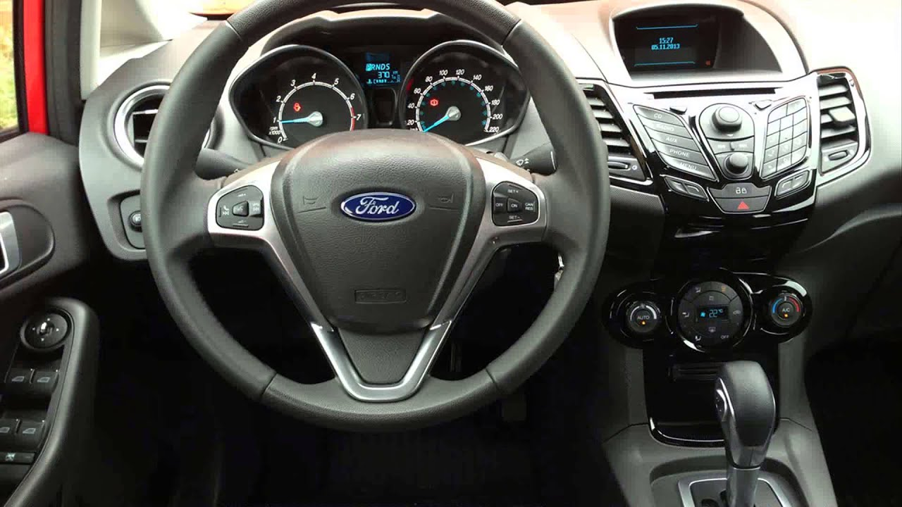 2015 Model Ford Fiesta Titanium 1 6 16v Powershift Youtube