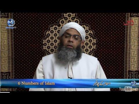 6 numbers of Islam اسلام کے چھ نمبر Maulana Ali Anwar Qasmi